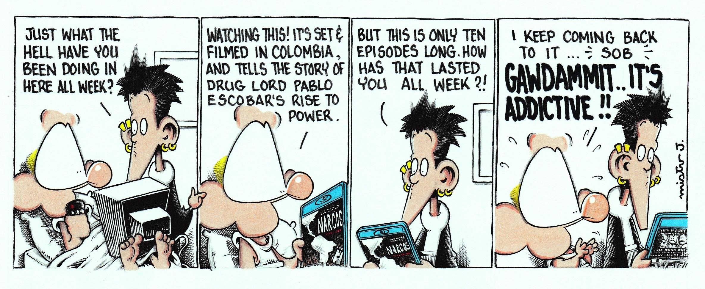 Mr J Comics Narcos